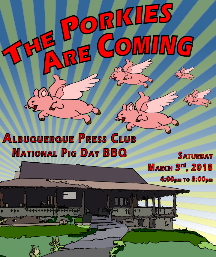National Pig Day BBQ at the APC